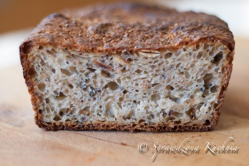 chleb wieloziarnisty łatwy