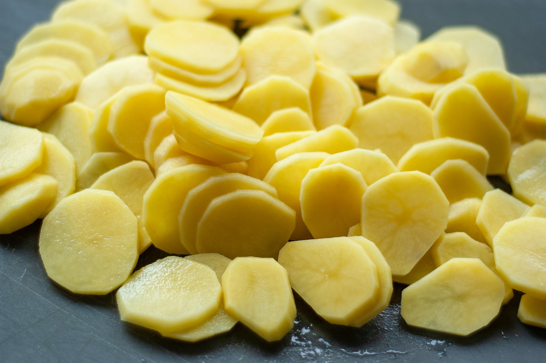 plasterki ziemniaków