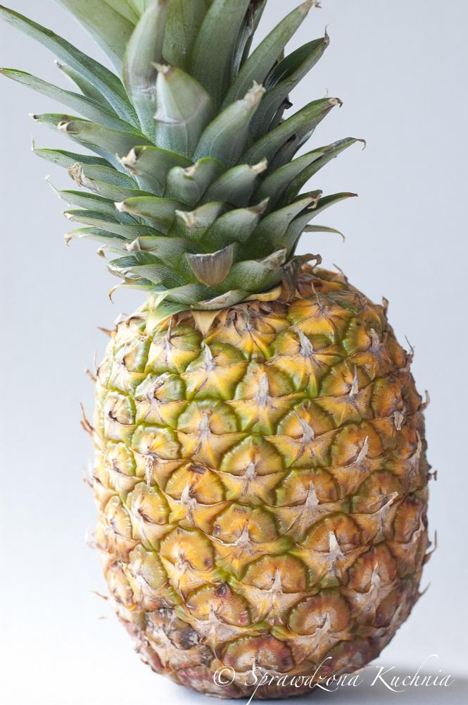 szaszlyki z lososia i ananasa