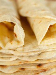 świeża tortilla