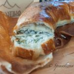 Ciasto francuskie – rolada szpinakowo-serowa