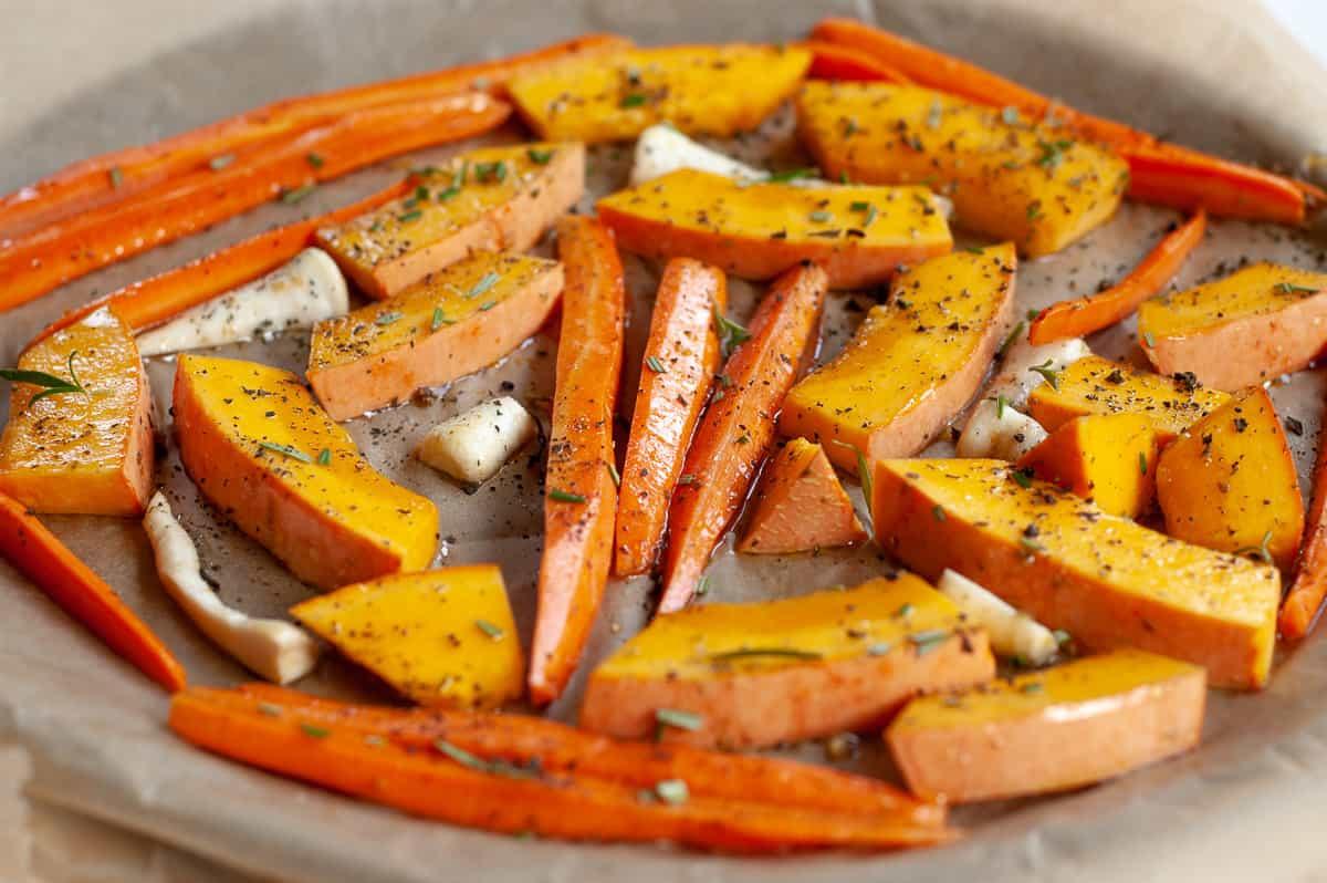 Grillowane warzywa z piekarnika