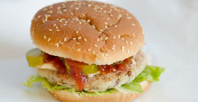 Burger warzywno – ryżowy