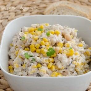 sałatka z ryżu1