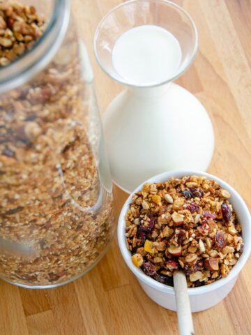 granola z zurawina
