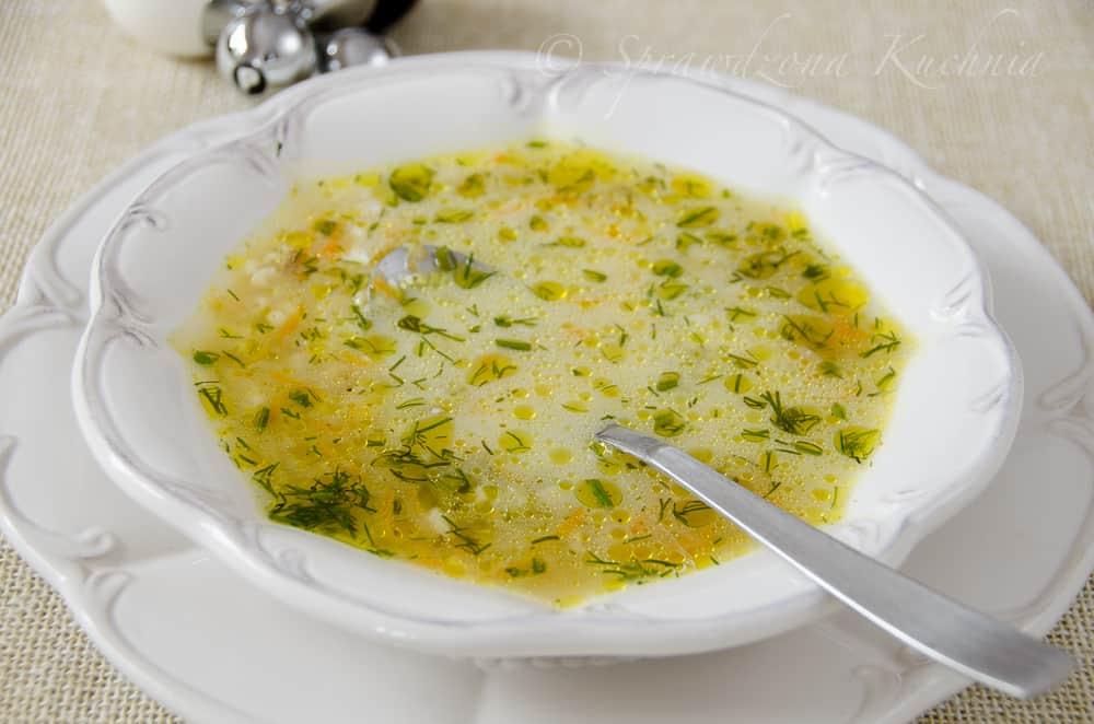 Zupa ogórkowa z 4 minuty