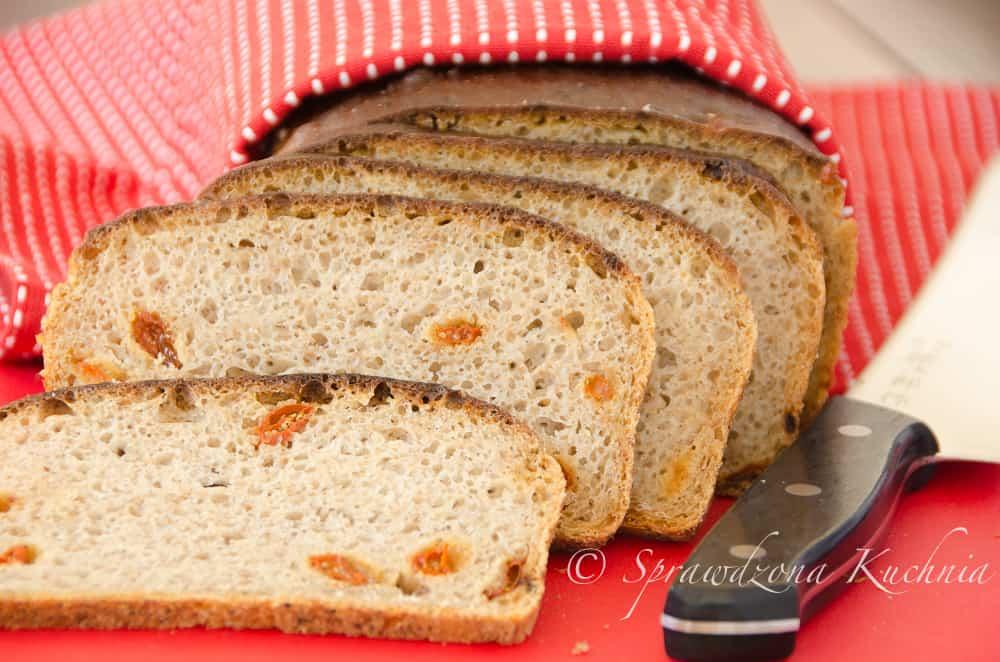 Chleb zytnio-pszenny z jagoda goji