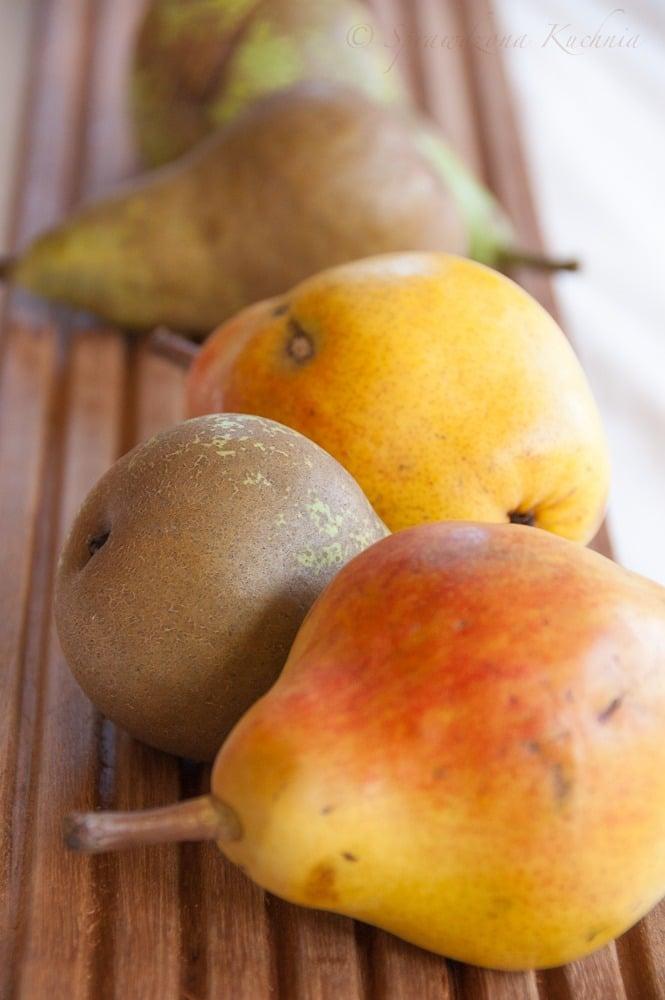 Smoothie z mango i gruszka