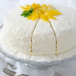 tort z mango i kremem kokosowym1