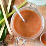 Dżem – sos z rabarbaru