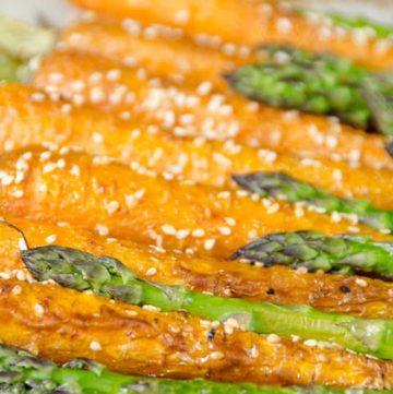 karmelizowane marchewki