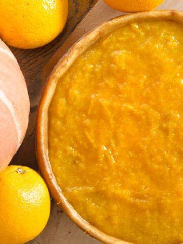 Sernik z nutka pomaranczy