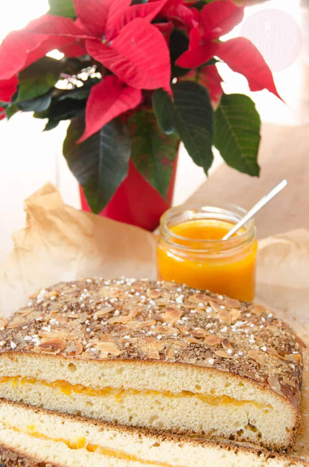 placek drozdzowy z pomaranczami
