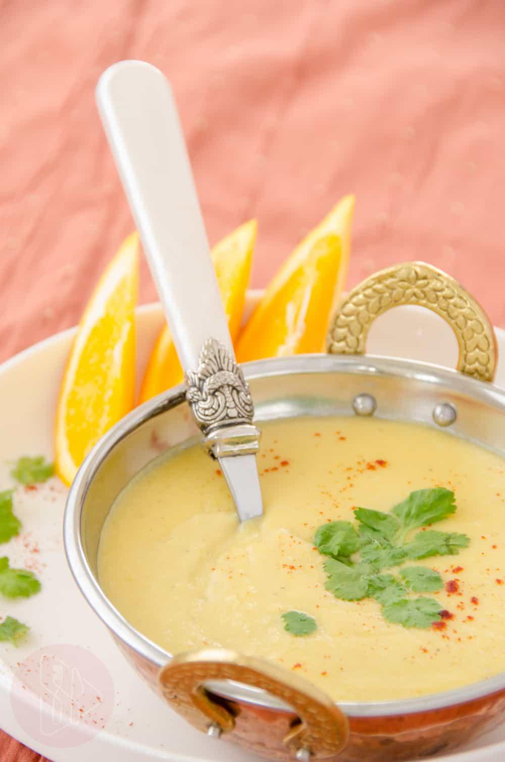 Zupa z soczewicy na mleku kokosowym