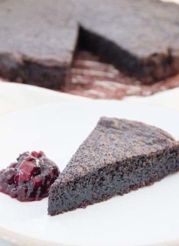 Oliwne ciasto czekoladowe