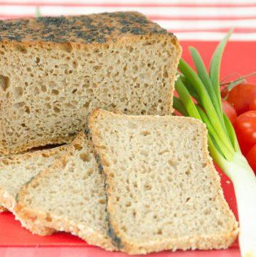 chleb z czarnuszka