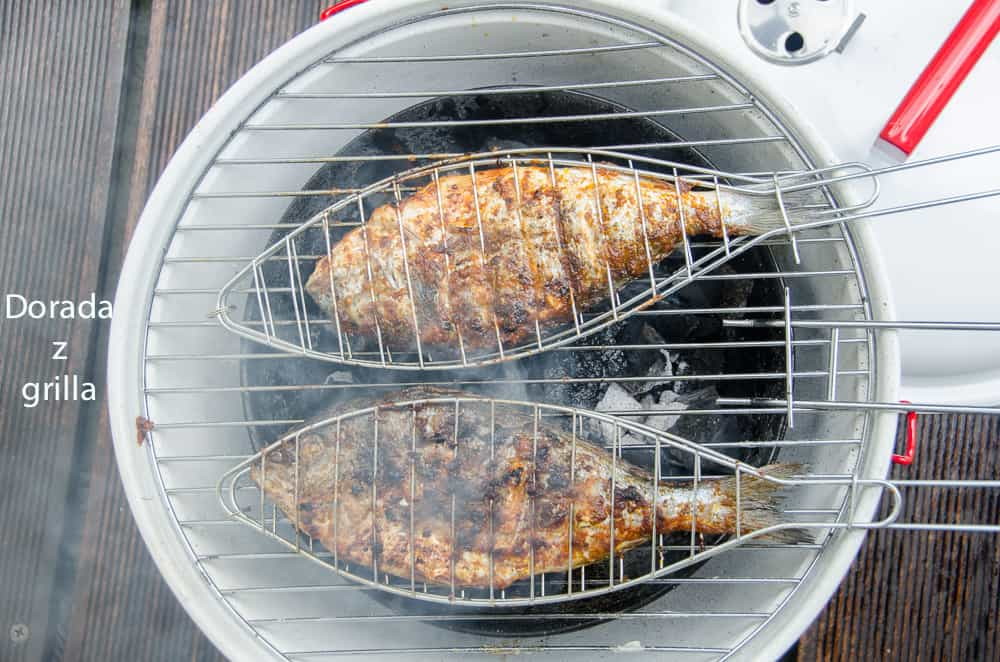 dorada z grilla