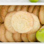 Ciastka limonkowo - cukrowe