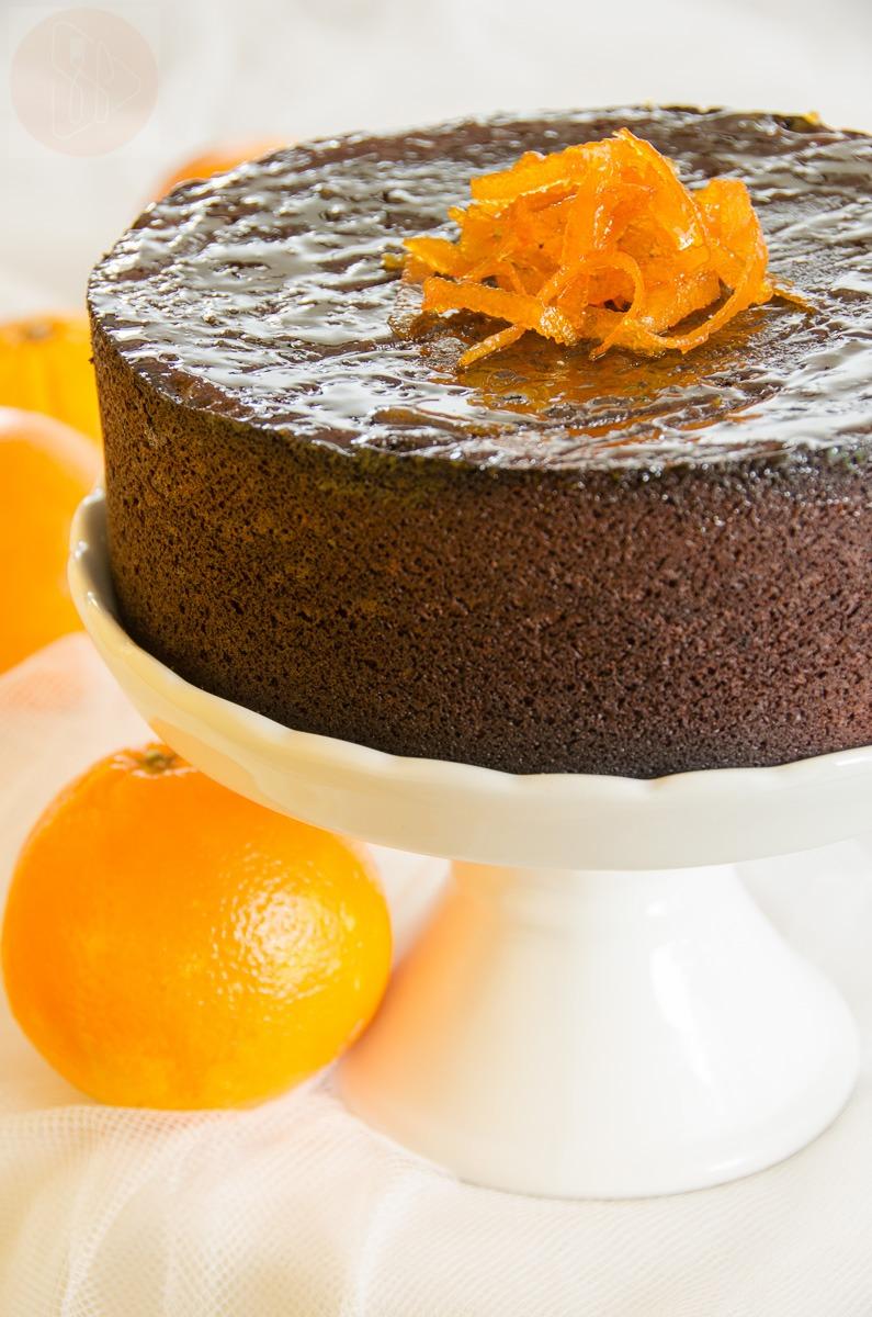 Ciasto czekoladowo - pomaranczowe