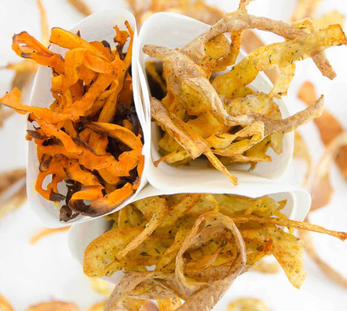 Chipsy Z Obierek Warzywnych Przepis Sprawdzona Kuchnia