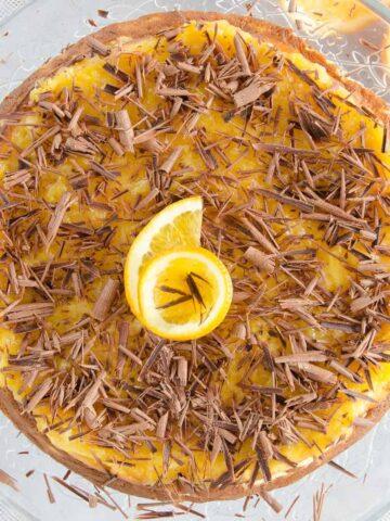 sernik pomaranczowo-piernikowy