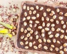 Mazurek podwójnie czekoladowy - bezglutenowy