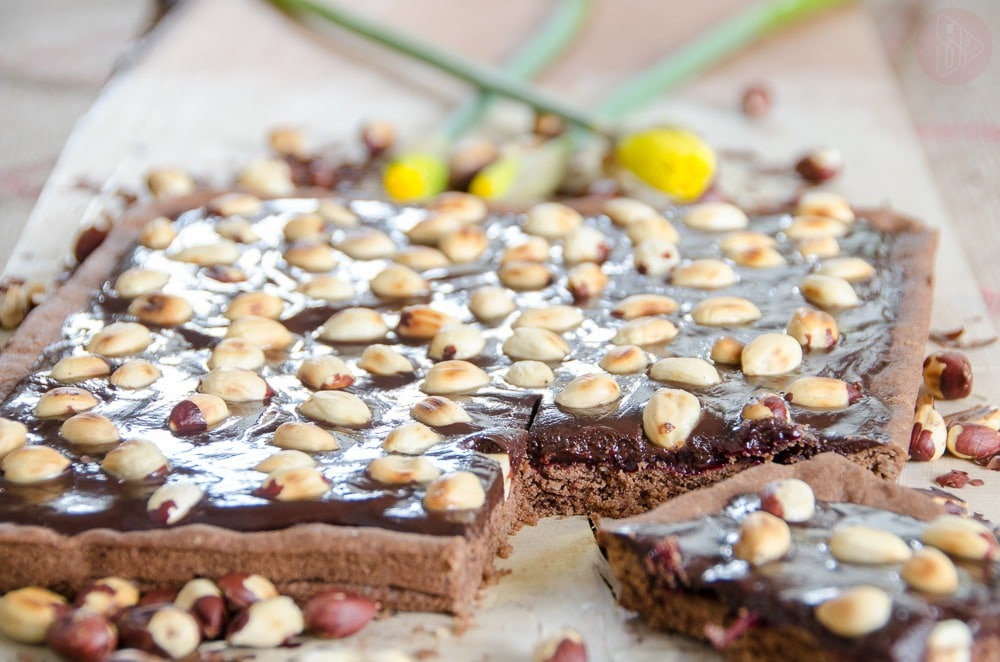 Mazurek podwojnie czekoladowy - bezglutenowy