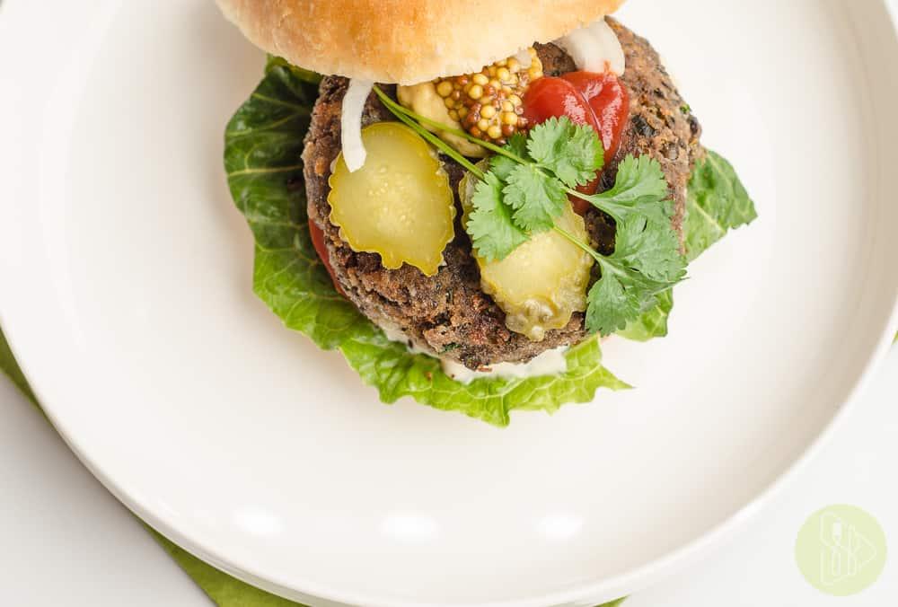 burger z soczewicy