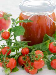przecier pomidorowy II w słoiku