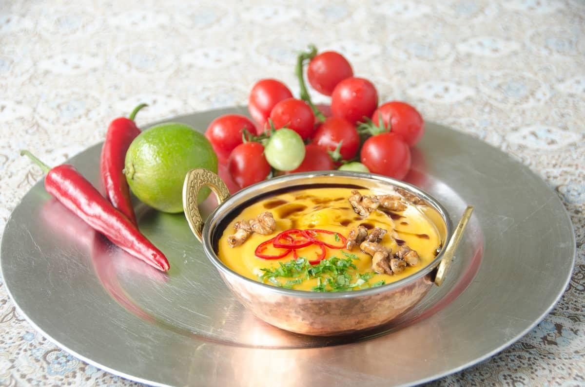 zupa z dyni i pomidorow