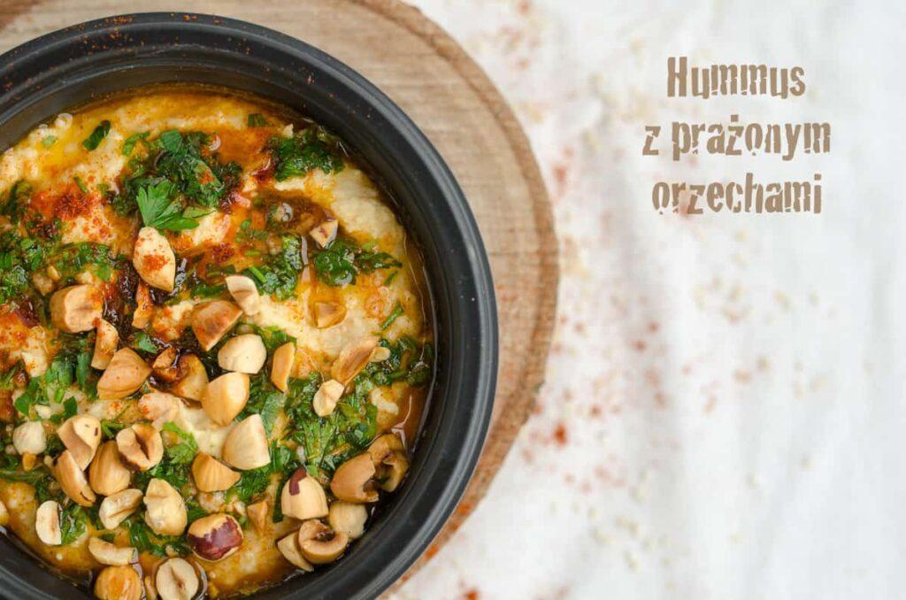 hummus z orzechami