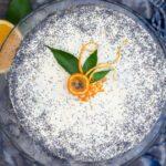 Tort makowo pomarańczowy