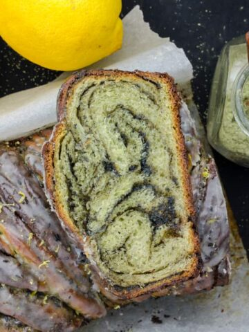 ciasto drozdzowe-matcha