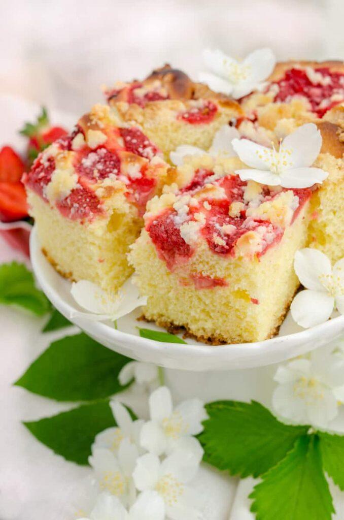 ciasto drozdzowe z truskwakami
