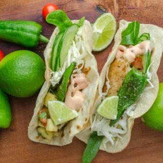 Tacos z rybą
