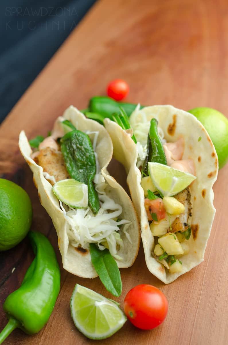 tacos z ryba
