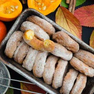 Oponki serowe z dynią