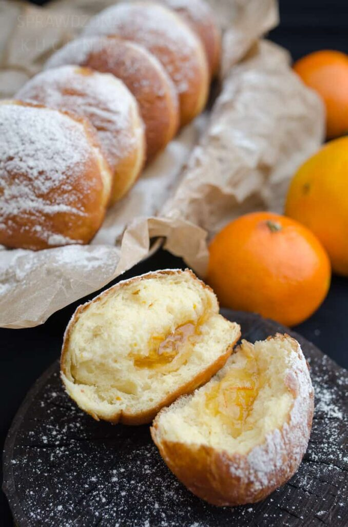 Paczki z nutka pomaranczy