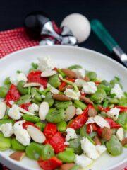 salatka z bobem