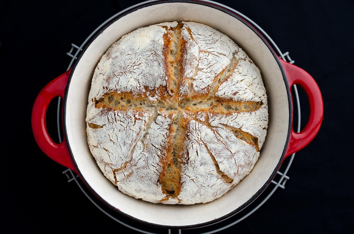 chleb z garnka pytlowy