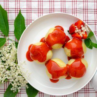 Knedle truskawkowe