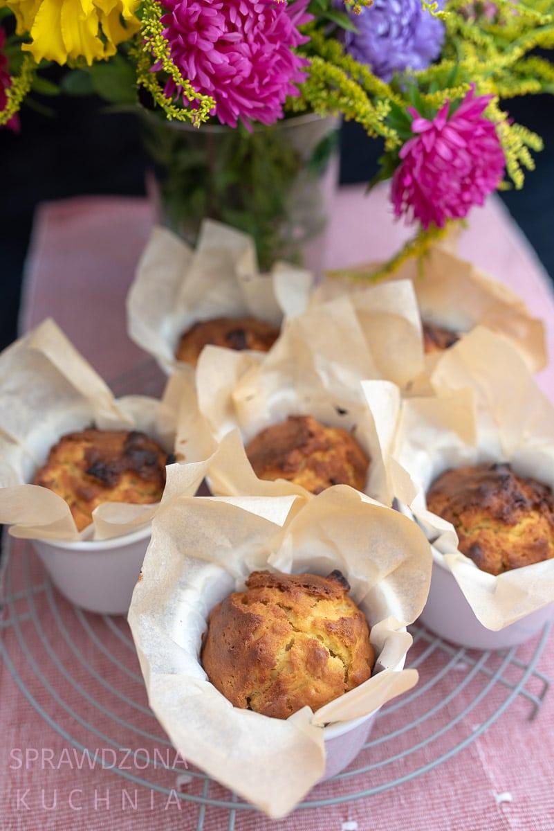 muffiny jablkowo-jogurtowe