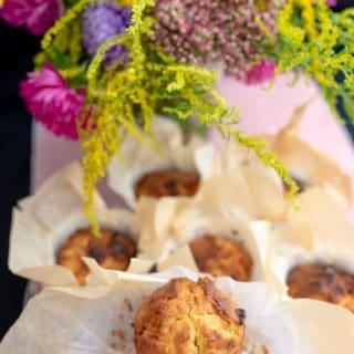 Muffiny jabłkowo-jogurtowe