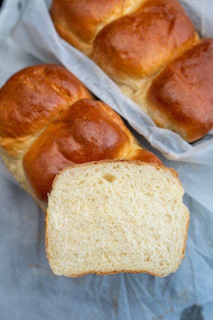 mleczny chleb hokkaido