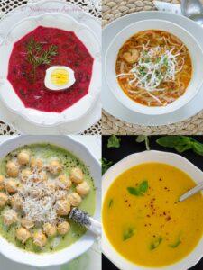 Przepisy na zupy i kremy